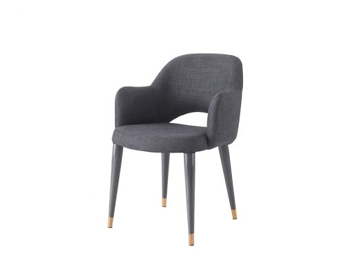 Belvedere Charcoal Chair