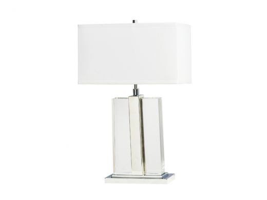 Fleming Table Lamp, Crystal