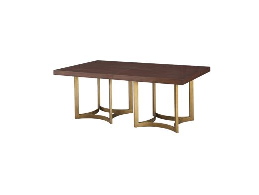 Rect Wooden Dining Table