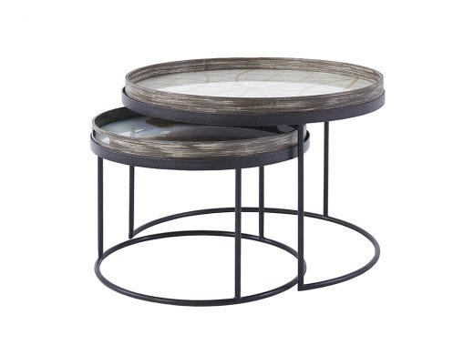 Nesting Tray Side Table Set