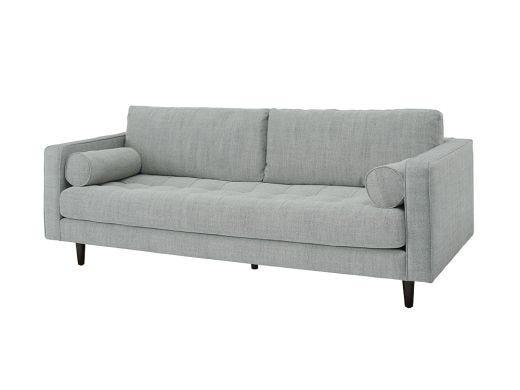 Austin  3 Seat Sofa, Light Grey
