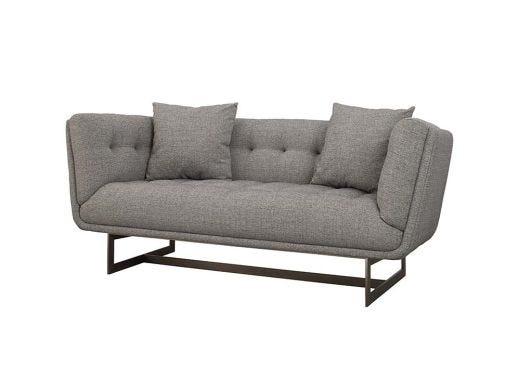 Seville 2 Seat Sofa, Grey