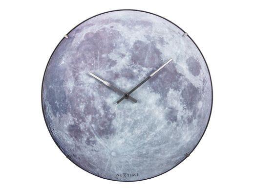 Glow in Dark Moon - Dome Clock