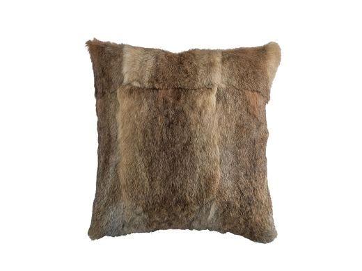 Beige Fur Cushion Cover 45x45