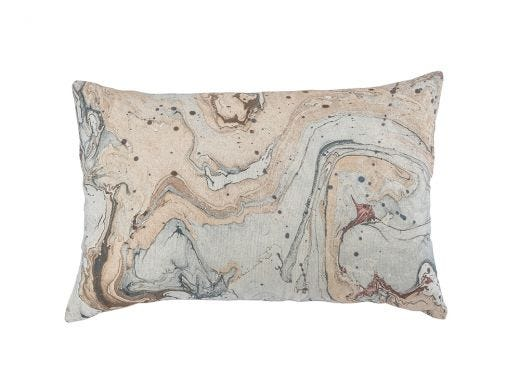 Marbled Cushion Cover - Multi