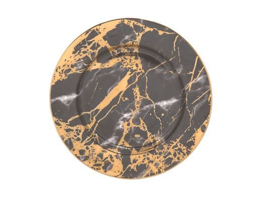 Side Plate - Black Tourmaline