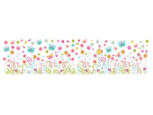 Butterflys&Flowers Wall Decal