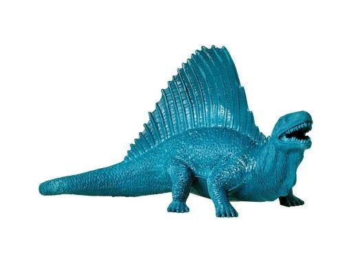 Dark Green Plastic Dinosaur