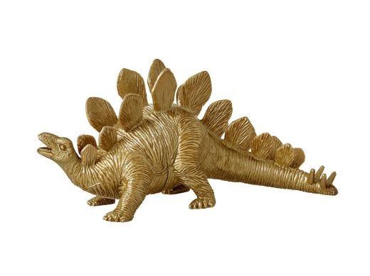 Gold Plastic Dinosaur