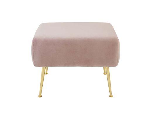 Cooper Ottoman, Pink