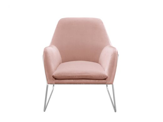 Tyler Pink Velvet Chair