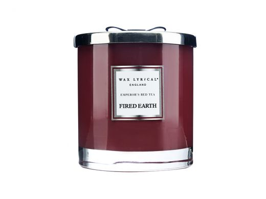 Emperors Red Tea Candle-2Wick
