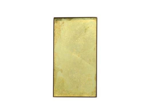 Gold Leaf Glass Tray, Medium