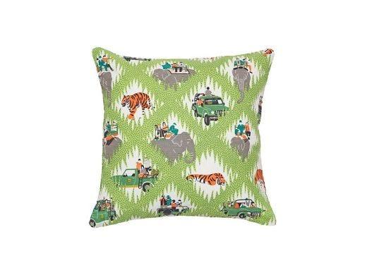 Safari Tracks Cushion Cover
