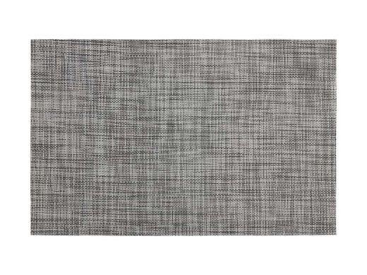 Crosshatch Placemat, Grey PVC 30 x 45cm