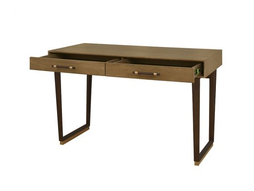 Memphis Light 2 Drawers Desk
