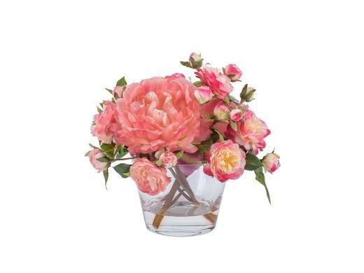 Peonies & Roses Arrangement