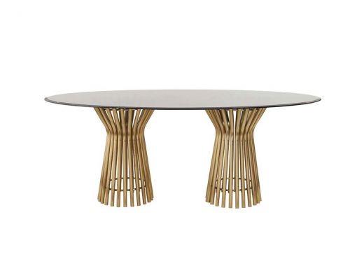 Vera Dining Table Oval Top