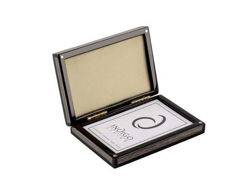 Argent Name Card Box