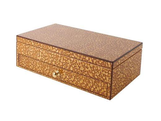 Walnut Burl Jewellery Box