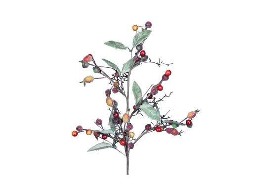Rosehip Leaf Spray - 60cm