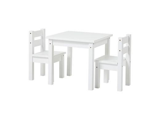 Mads Children Chair, White