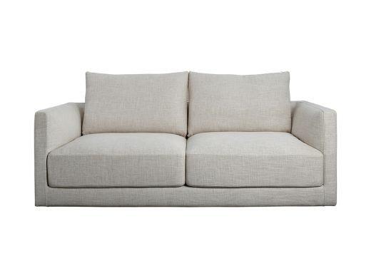 Basel 2 Seat Sofa, Natural