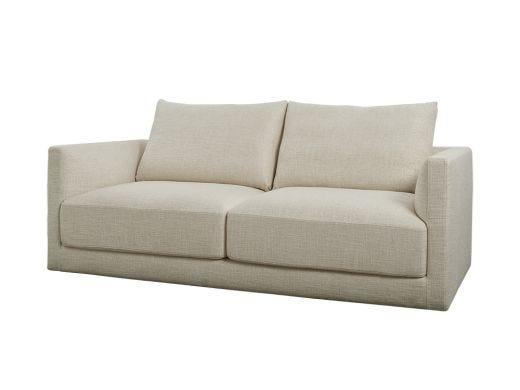 Basel 2 Seat Sofa, Oat