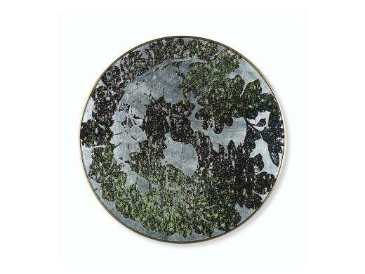 Silver Leaf Floral  Medium