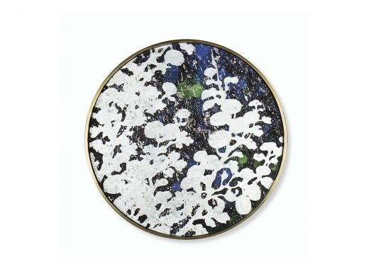 Silver Leaf Floral  Small