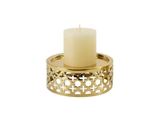 Lattice Candle Holder - Medium