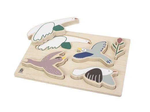 Chunky Puzzle-Birds