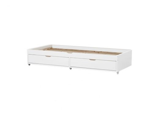 Deluxe Bed With Trundle Storage