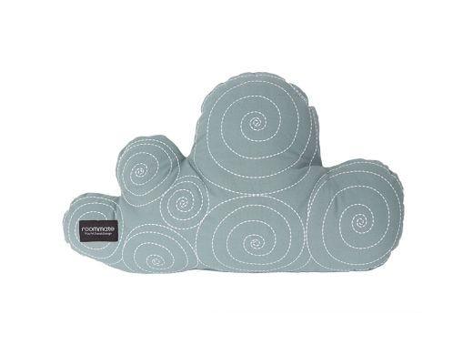 Cloud Cushion Sea Green