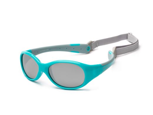 Kids Sunglasses-Aqua Grey 3+