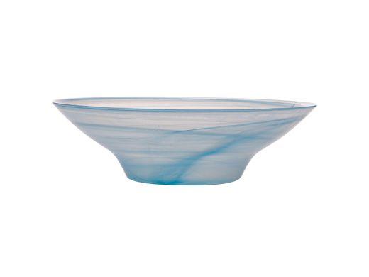 Marblesque Salad Bowl, Blue