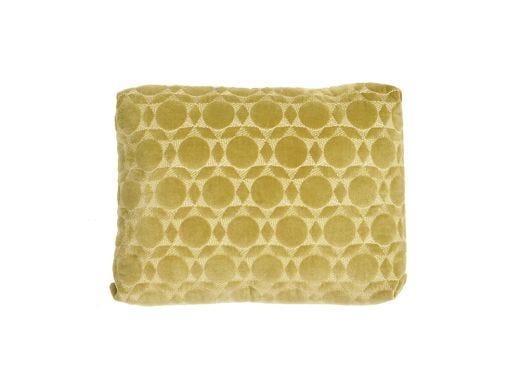 Citrine Velvet Box Cushion