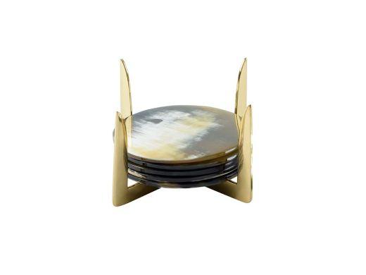 Cael Round Coasters W/Holder 6
