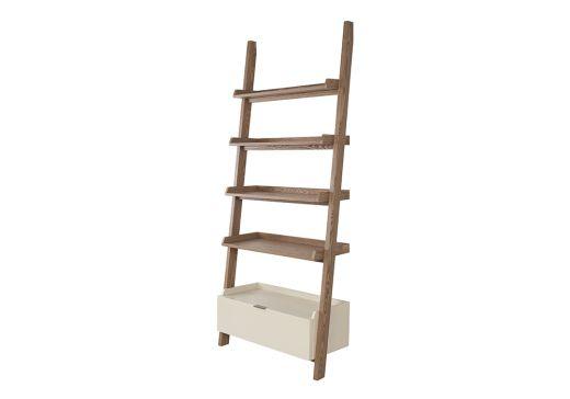 Capri Leaning Bookshelf