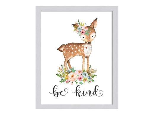 Bambi - Be Kind Artwork