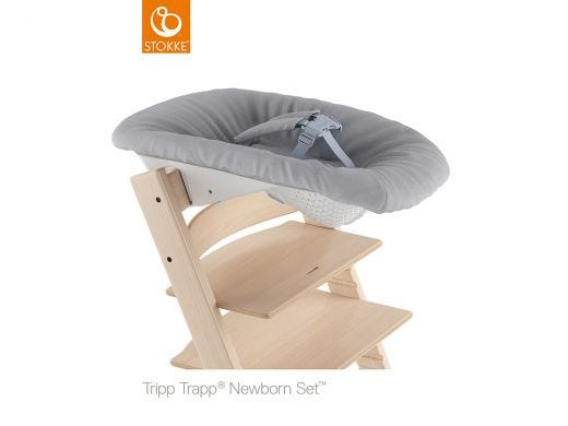 Tripp Trapp New Born Set, Grey
