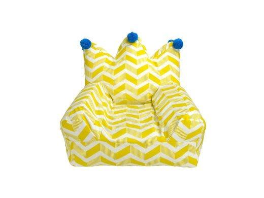 Crown Bean Bag - Yellow