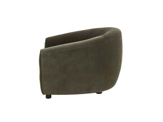 Geneva Armchair, Green Velvet