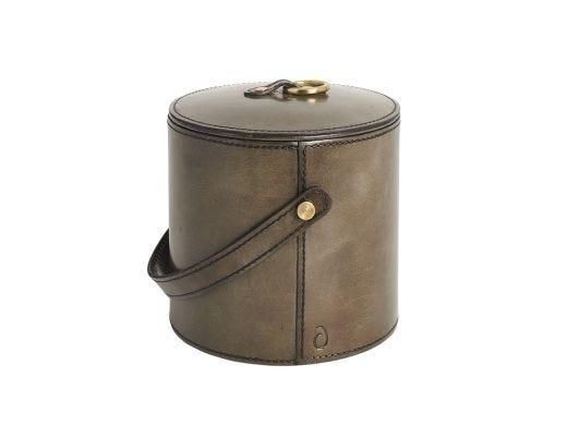 Lorum Ice Bucket, Leather