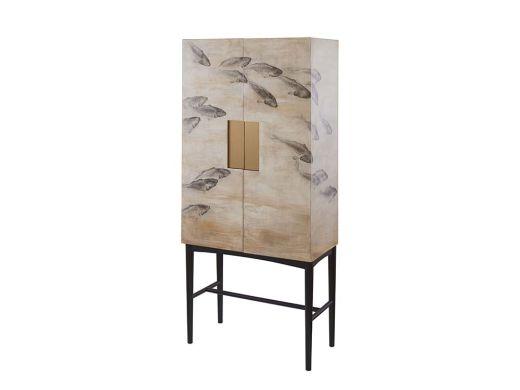 Koi Fish Cabinet