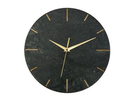Marble Clock, Green