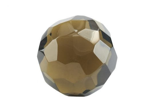 Faceted Crystal Paper Weight L
