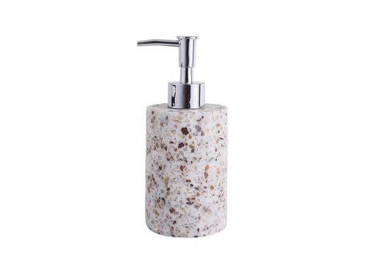 Terrazzo Soap Dispenser Beige