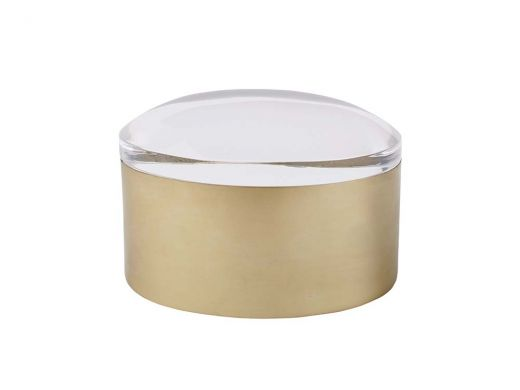 Clear Top Oval Box
