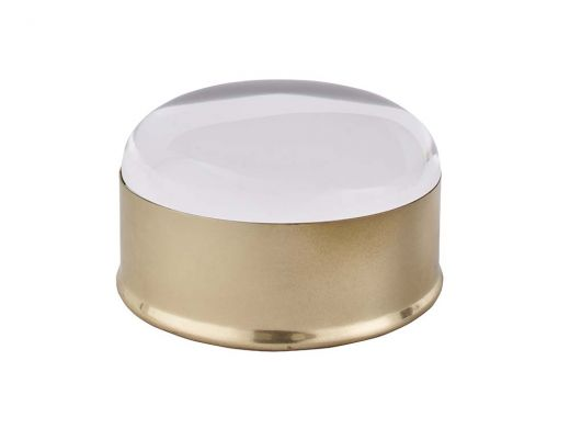 Clear Top Round Box